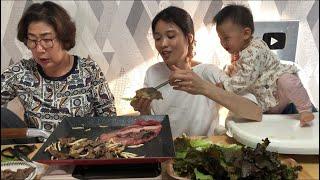 |TẬP 487| THỊT LƯNG BÒ CHUẨN HÀN XÈO XÈO NÓNG HỔI MỀM MẠI ẨN MÌNH TRONG XÀ LÁCH,BEEF EATING SHOW