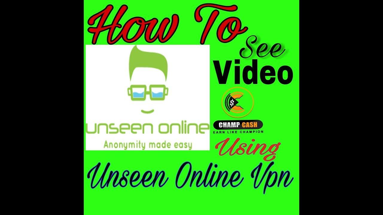 Vpn unseen online