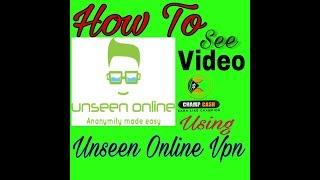 Unseen Online Vpn Se Video Kiase Dekhe screenshot 2