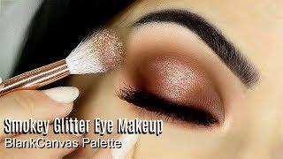Beginner Eye Makeup Tutorial Using Blank Canvas Master Series | How To Apply Eyeshadow