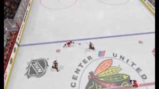 Kane nice goal NHL 10 Playstation 3