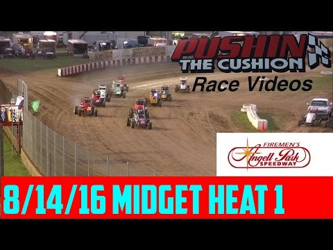 8/14/16 Angell Park Speedway Midget Heat 1