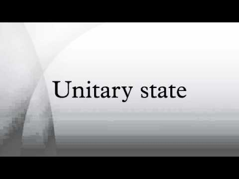 Unitary state