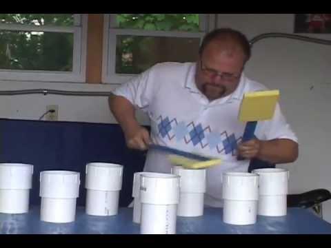 Blue Man Group Pipe Set