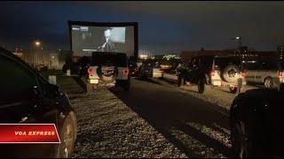 Xem phim ngoài trời mùa dịch Covid ở Mỹ (VOA)