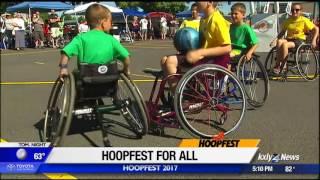 Parasport Spokane provides wheelchairs for Hoopfest