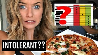OPENING MY FOOD TEST RESULTS! / NO MORE PIZZA?