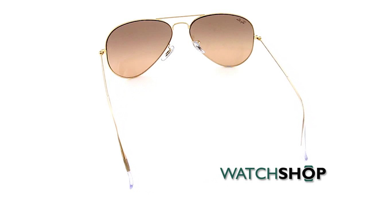 4af1096c8 Ray-Ban Men's Aviator Gradient Mirror Sunglasses (RB3025-001/3E-58 ...