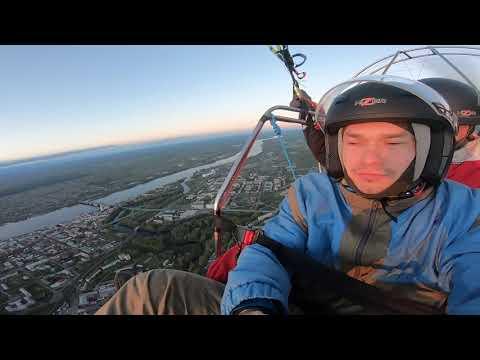Полет над Рыбинском