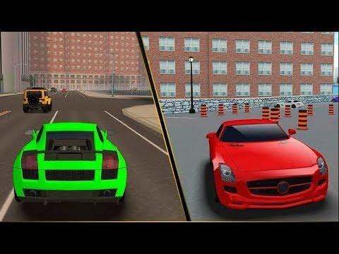 Мультики про машинки - правила дорожного движения и светофор.