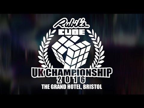 UK Rubik's Cube Championship 2016 - 3x3 Final