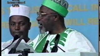 Speeches by Various Distinguished Guests Jalsa Salana UK 2000