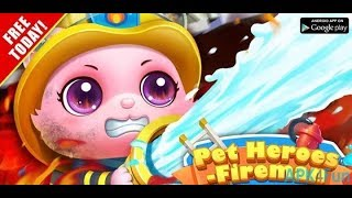 The Secret Life Of Pets - Game Action and Adventure Pet Heroes: Fireman - Game Movies for Kids