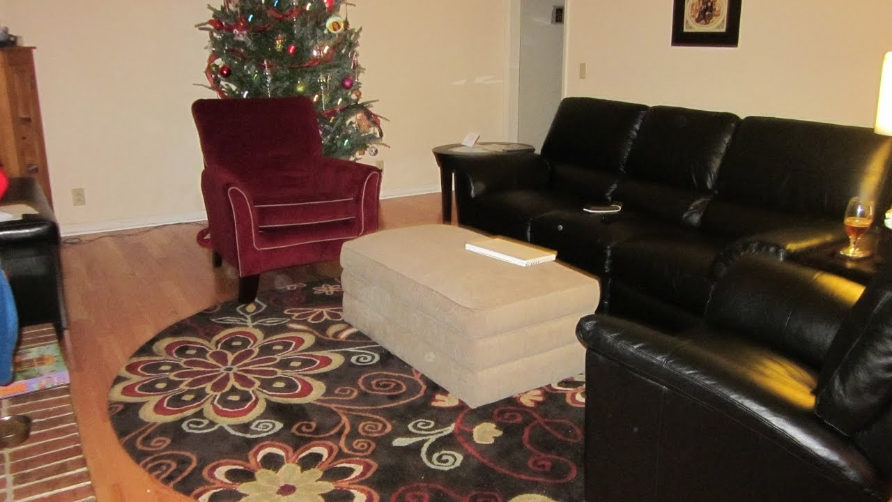 Lazy Boy Leather Living Room Furniture With Green Sofa Youtube