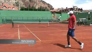 Sebastian Azcui Tennis Recruiting Video 2018