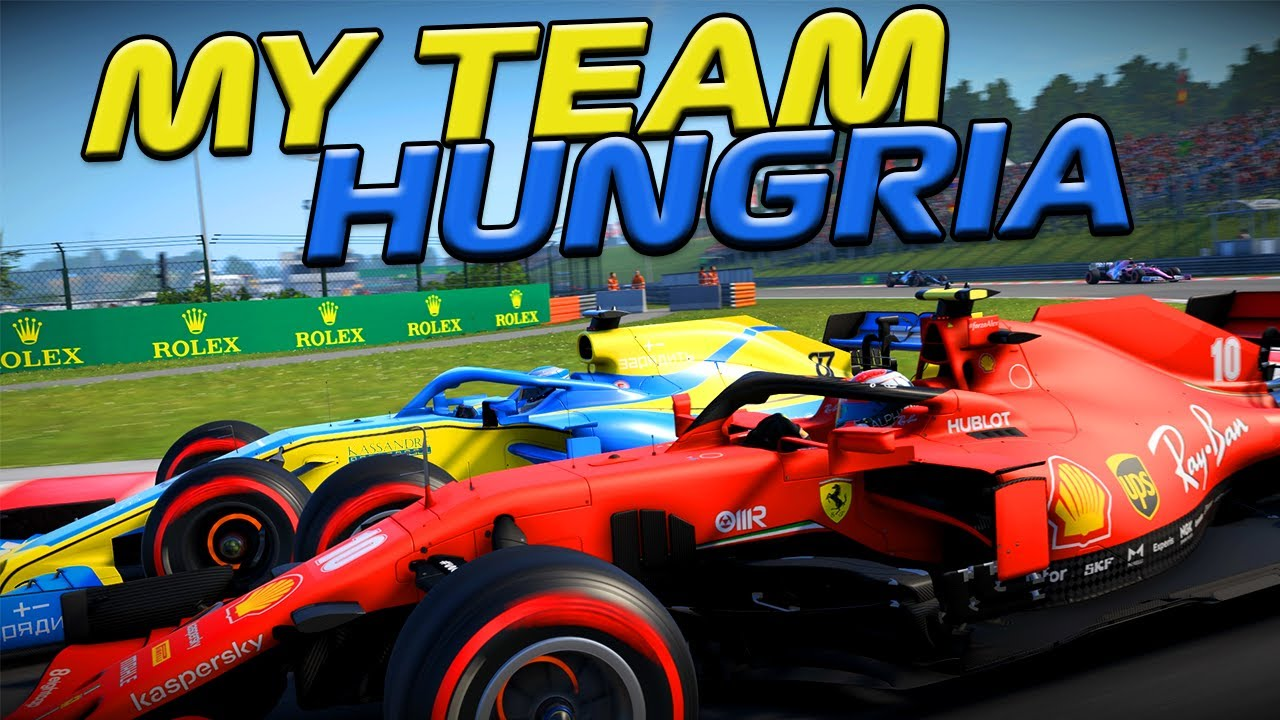 F1 2020 - MY TEAM - GP DA HUNGRIA - LECLERC ME HUMILHOU - EP 102