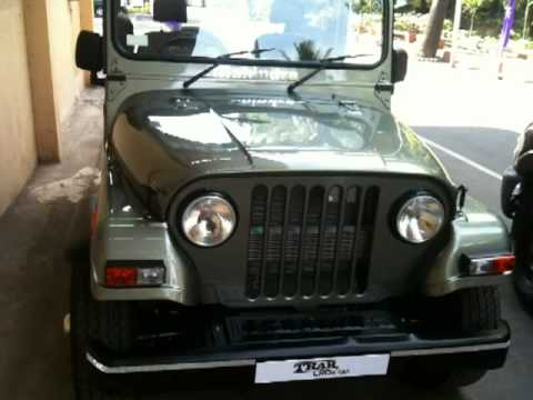 Mahindra Thar walkaround on OVERDRIVE