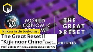 The Great Reset, het complete verhaal met Prof. Bob de Wit. (Dutch)