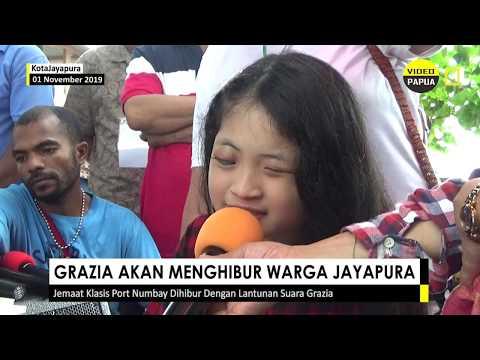 Artis Rohani, Grezia Epiphania, Akan Tampi Di Jayapura Untuk Pembangunan Gedung Sekolah Minggu.