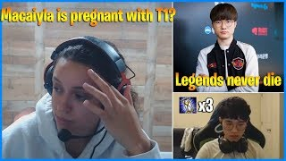 macaiyla announces she is pregnant with Tyler1 | Faker being Faker | LoL Daily Moments Ep 531