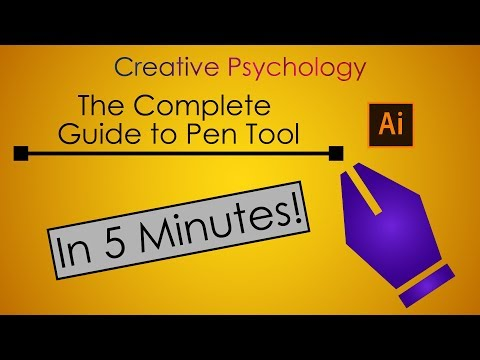 Adobe Illustrator Tutorial : The Complete Guide Guide to Pen Tool (In 5 Minutes)