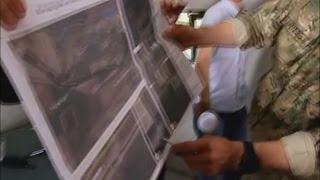 МО Украины представил доказательства артобстрела Украины из територии России.Съемка со спутника(Вооружённый конфликт на востоке Украины - боевые действия на территории Донецкой и Луганской областей..., 2014-07-24T10:38:25.000Z)