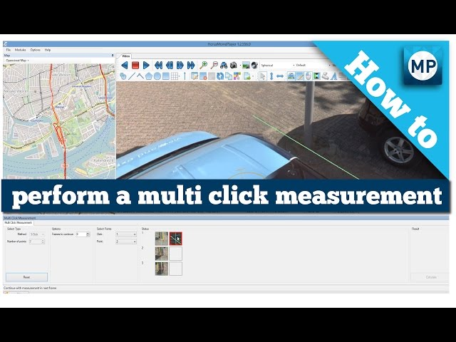 How to perform a multi click measurement