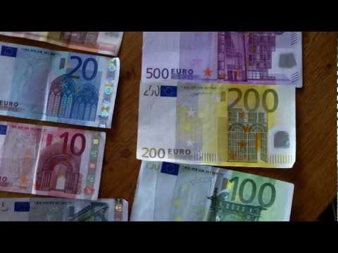 Euro money explained ; part 2 = Bank notes aka bankbiljetten