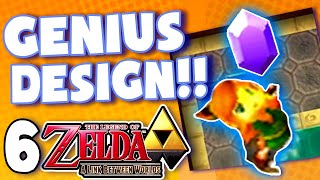 This game's design is GENIUS! - Zelda Link Between Worlds: PART 6