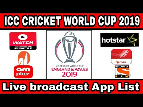 Icc Cricket World Cup 2019 Online Live Streaming App List Worldwide | Cricket World Cup Live Online
