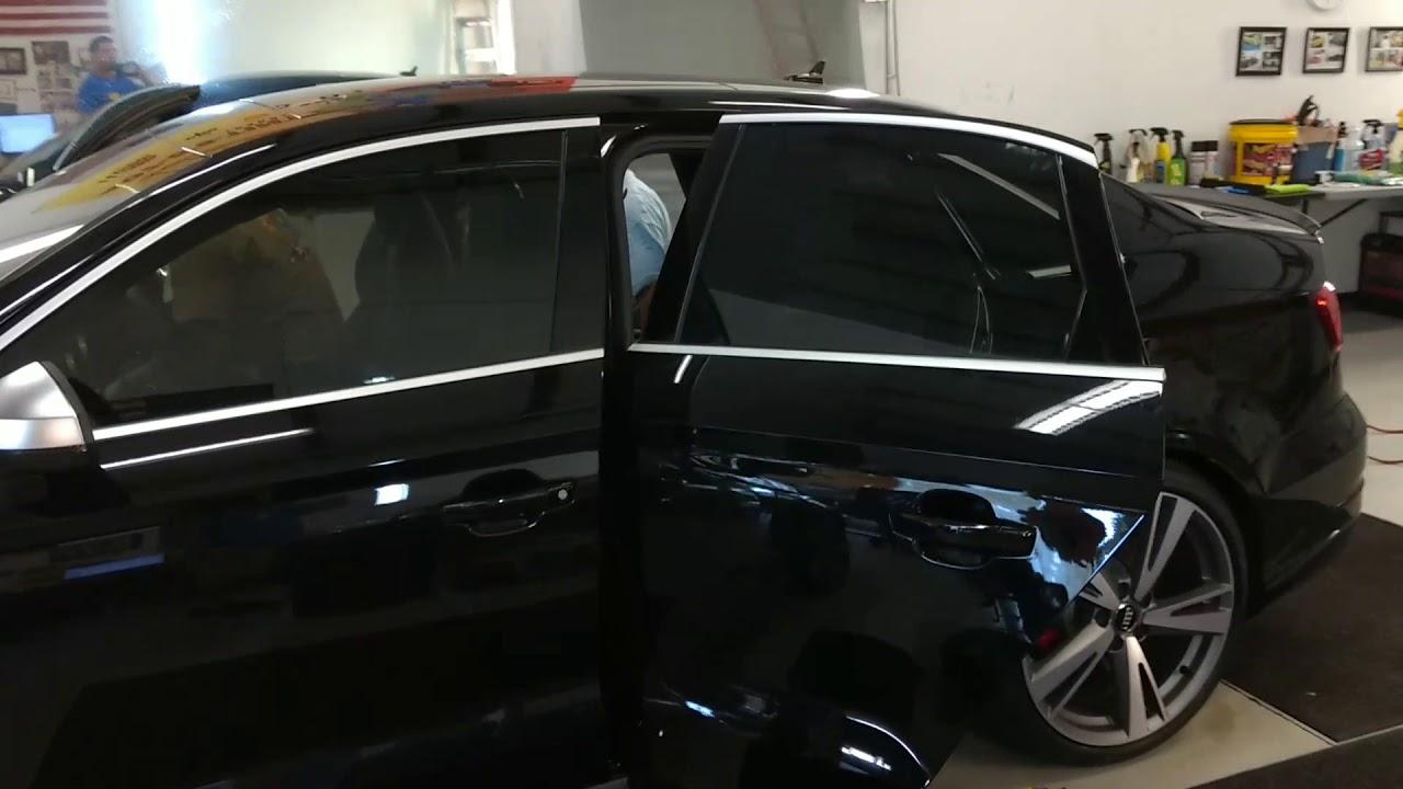 Tint Man Tints Audi Rs3 With Nano Carbon Ceramic 20 Tint