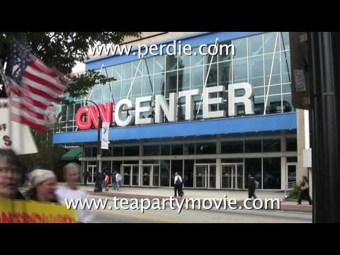 Can You Hear Us Now? March on CNN Protest Media Bi...