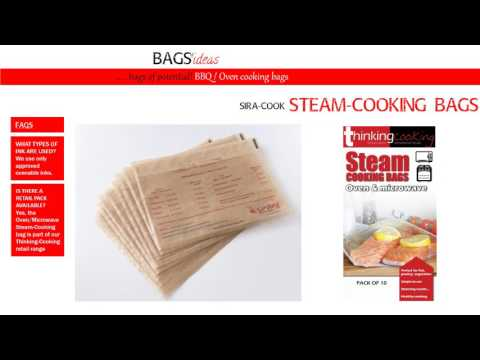 Steam-Cooking bag solutions from Sirane Ltd
