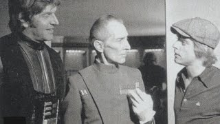 Peter Cushing on playing Grand Moff Tarkin on carpet slippers