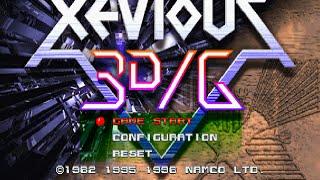 ゼビウス3D/G/XEVIOUS 3D/G 8,093,300