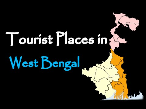 Tourist places in West Bengal (India)