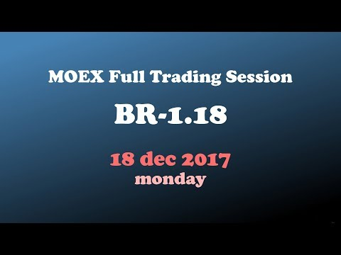 18dec2017 / MOEX Full Trading Session / BR-1.18