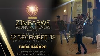 Hard West Music Perform at Zimbabwe Young Achievers Awards UK 2018!