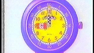 Reklamfilm för Flik Flak armbandsur från TV3 i slutet av 1980-talet