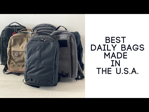 6 Awesome Daily / Tech Bags That are Made in the USA