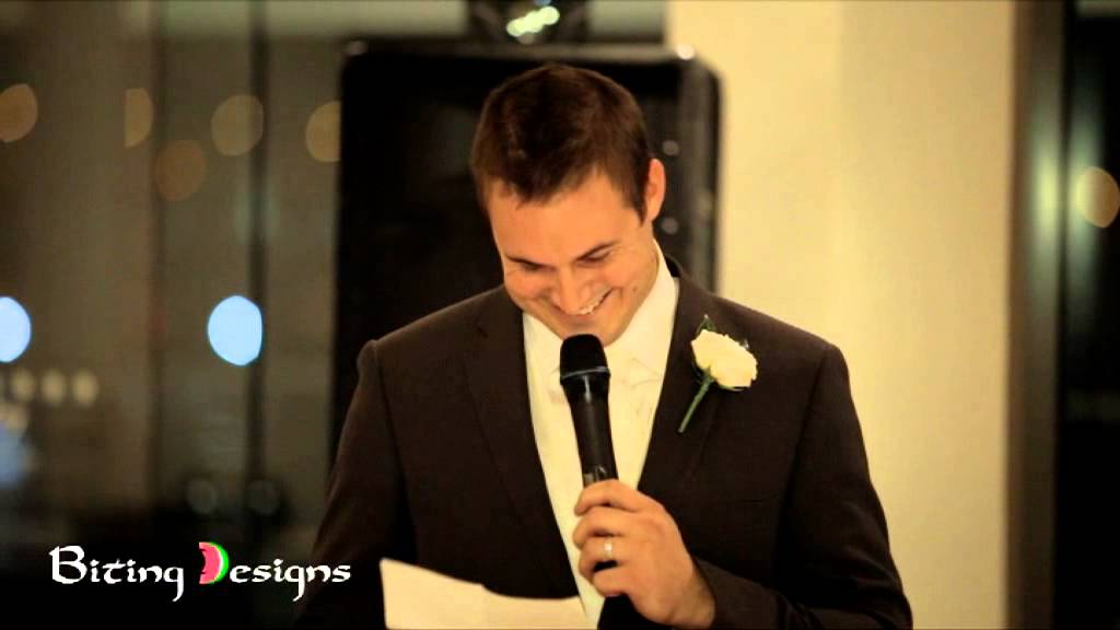 humorous wedding speech by the groom Humorous wedding speech by the groom it is apparent from the opening few lines of this speech that the groom has an excellent relationship with the bride's parents and this can be really useful, not just in the future, for obvious reasons, but it can also make the speech more humorous.