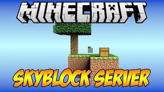 Minecraft Efsane Skyblock Premiumsuz Server Tanıtım MineBox
