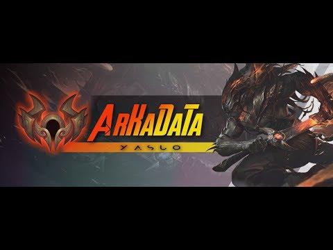 New Arkadata Montage Yasuo The Unforgiven Youtube