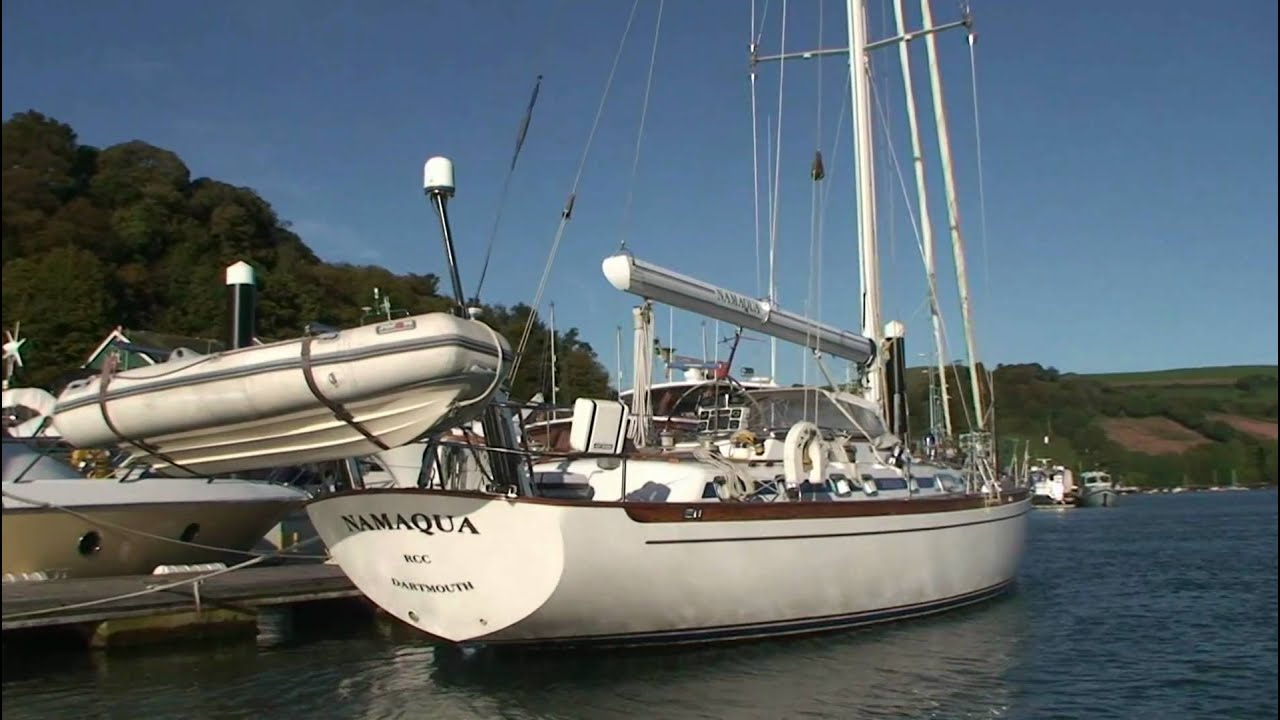 German Frers 60 sailing yacht for sale  Namaqua