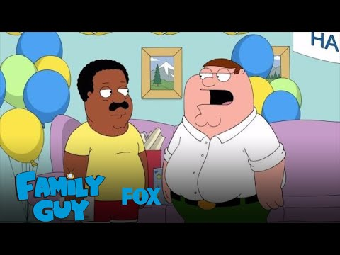 Cleveland Stops By Chris' Birthday Party | Season 15 Ep. 4 | FAMILY GUY