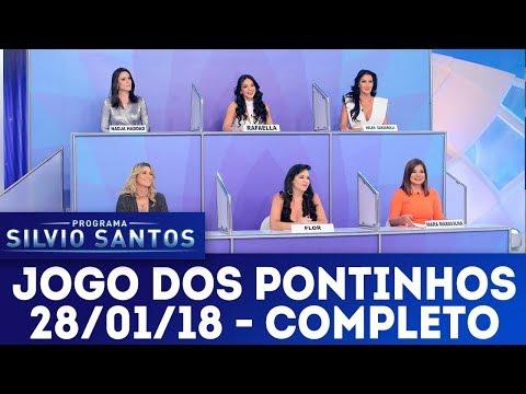 Jogo dos Pontinhos - Completo | Programa Silvio Santos (28/01/18)
