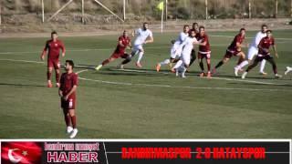Bandırmaspor 2-0 Hatayspor