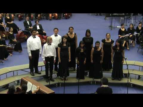 """""""The Lion Sleeps Tonight"""" by Moanalua High School Concert Choir @2010 Moanalua Complex Concert"""