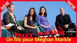 Un fils pour Meghan Markle : découvrez la réaction de Kate Middleton et du prince William