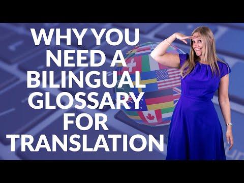 Why You Need A Bilingual Glossary For Translation Quality Assurance